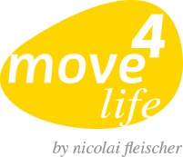 "Logo ""move4life"" Praxis für Physiotherapie in Göttingen"